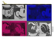 Mickey In Quad Colors Carry-all Pouch
