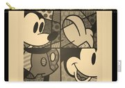 Mickey In Sepia Carry-all Pouch