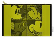 Mickey In Yellow Carry-all Pouch