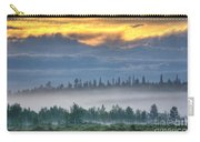 Mid Summer Night's  Fog Carry-all Pouch by Heiko Koehrer-Wagner