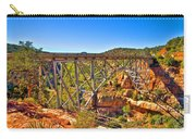 Midgley Bridge Sedona Arizona Carry-all Pouch