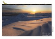 Midnight Sun Over Lilletinden Mountain Carry-all Pouch