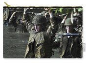 Midshipmen Cross A Creek During Sea Carry-all Pouch