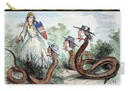 Midwest Copperheads, 1863 Carry-all Pouch