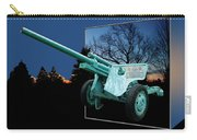 Military Artillery Piece Carry-all Pouch