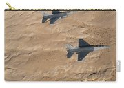 Military Fighter Jets Fly In Formation Carry-all Pouch