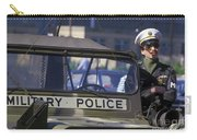 Military Policeman Stands Next Carry-all Pouch by Michael Wood