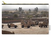 Military Vehicles Parked Outside Loy Carry-all Pouch