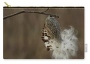 Milkweed Seed Pod Opening Carry-all Pouch