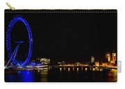 Millenium Wheel And London Night View  Carry-all Pouch