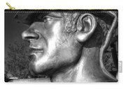 Miner Statue Monochrome Carry-all Pouch