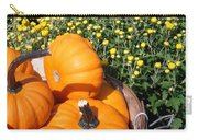Mini Pumpkins Carry-all Pouch by Kimberly Perry