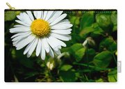 Miniature Daisy In The Grass Carry-all Pouch