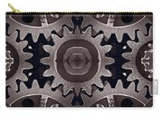 Mirror Gears Carry-all Pouch by Steve Gadomski