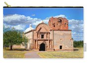 Mission At Tumacacori Carry-all Pouch