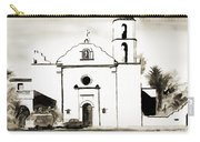 Mission San Luis Rey Bw Carry-all Pouch