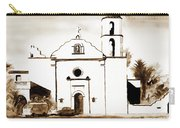 Mission San Luis Rey In Sepia Carry-all Pouch by Kip DeVore