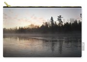 Mist Over The Mississippi Carry-all Pouch