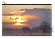Misty Country Sunrise  Carry-all Pouch
