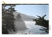 Misty Morning On The Big Sur Coastline Carry-all Pouch