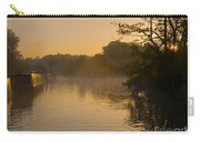 Misty Morning On The Grand Union Canal Carry-all Pouch