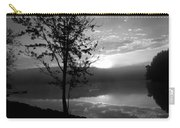 Misty Reflections Bw Carry-all Pouch