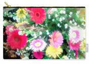 Mixed Asters Carry-all Pouch
