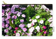 Mixed Impatiens In Dappled Shade Carry-all Pouch