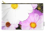 Mixed Pink And White Cosmos Carry-all Pouch