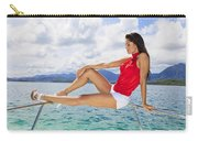 Model At Kaneohe Bay Carry-all Pouch