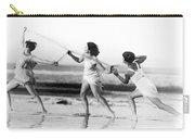 Modern Dance On The Beach Carry-all Pouch