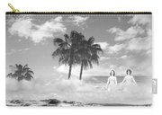 Mom's Tropical Dreams Bw Carry-all Pouch