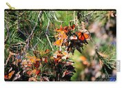 Monarch Butterfly Gathering Carry-all Pouch