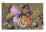 Monarch On Thistle II Carry-all Pouch