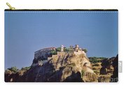 Monastery At Meteora Greece Carry-all Pouch