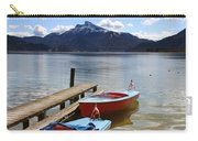 Mondsee Lake Boats Carry-all Pouch by Lauri Novak