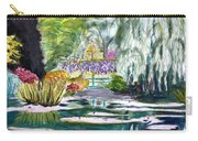 Monet's Jardin De L'eau Carry-all Pouch