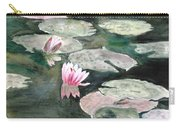 Monet's Lily Pads Carry-all Pouch