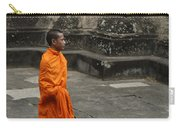 Monk At Ankor Wat Carry-all Pouch