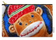 Monkey Sock Around Carry-all Pouch