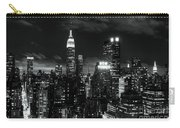 Monochrome City Carry-all Pouch