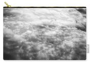 Monochrome Clouds Carry-all Pouch