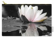 Monochrome Lily Carry-all Pouch