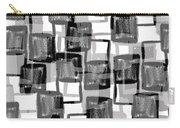 Monochrome Squares Carry-all Pouch