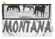 Montana Horse Design Carry-all Pouch