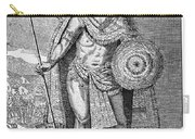 Montezuma II (c1480-1520) Carry-all Pouch