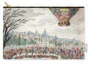 Montgolfier Balloon Le Flesselles Carry-all Pouch