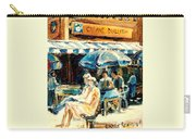 Montreal Cafe City Scenes Prince Arthur And Duluth Street Carry-all Pouch