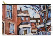 Montreal Scene 03 By Prankearts Carry-all Pouch
