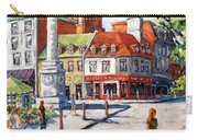 Montreal Street Urban Scene By Prankearts Carry-all Pouch